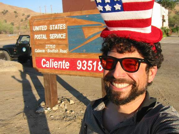 Caliente, CA 93518. fifth of July, 2002