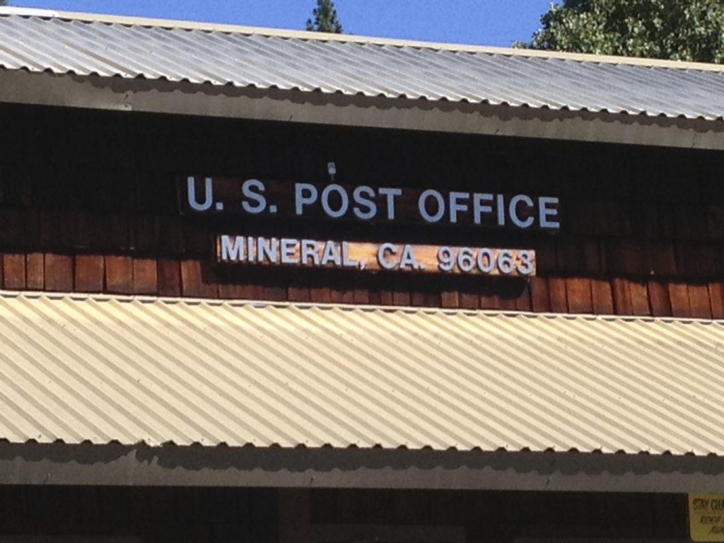Mineral, CA 96063