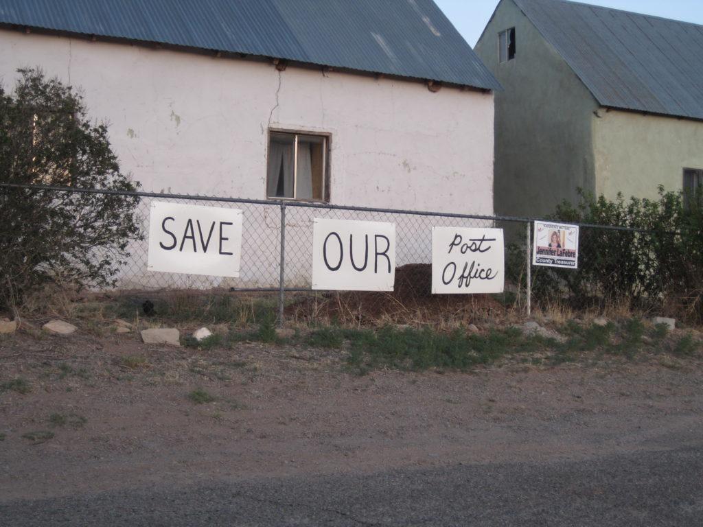 Save Our Post Office - Villanueva, NM 87583