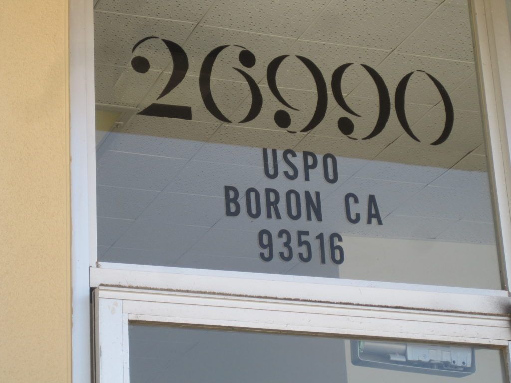 Boron CA 93516
