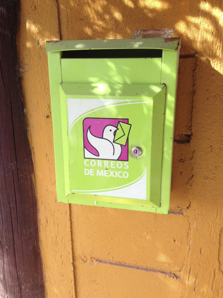 Baja Mexico post-office-box