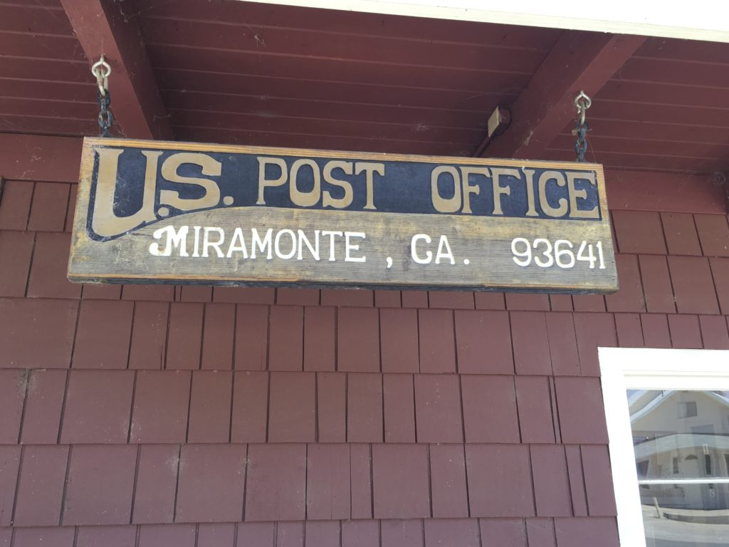 Post Office Miramonte, CA 93641