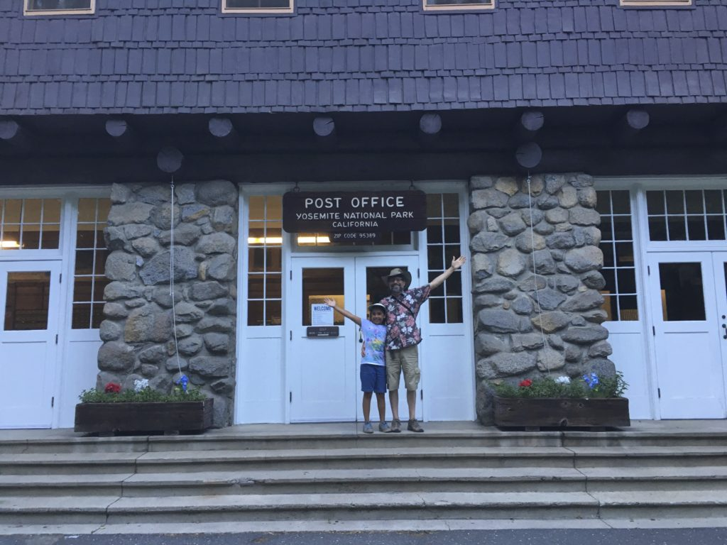 Post Office Yosemite, CA 95389