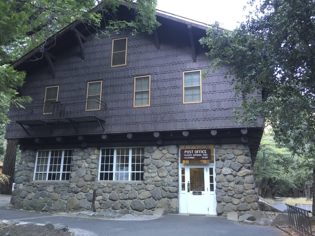Post Office Yosemite, CA 95389