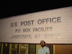 Quartzsite, AZ 85359 PO Box Facility