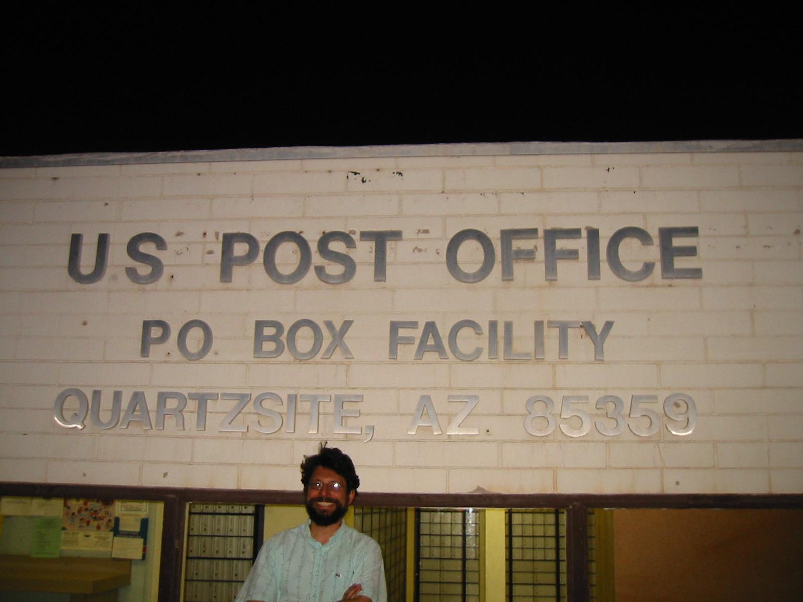 Quartzsite Az 85359 Po Box Facility Post Office Photos Com